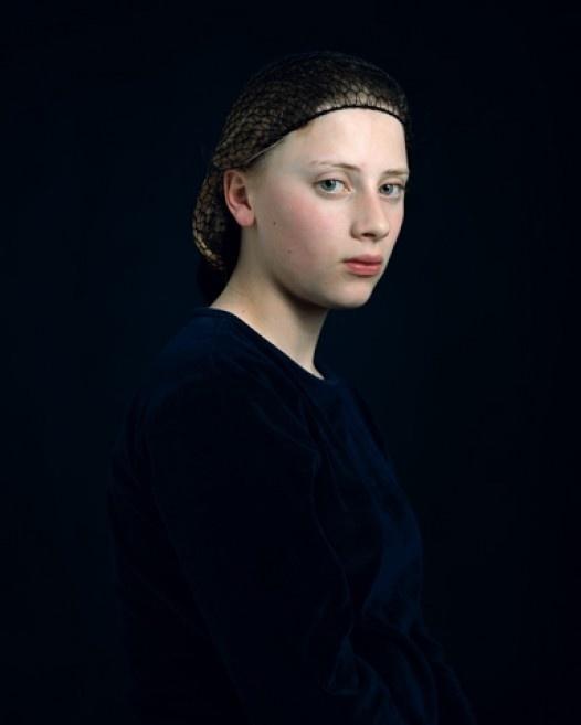 Женские портреты нидерландского фотографа Хендрика Керстенса / Hendrik Kerstens