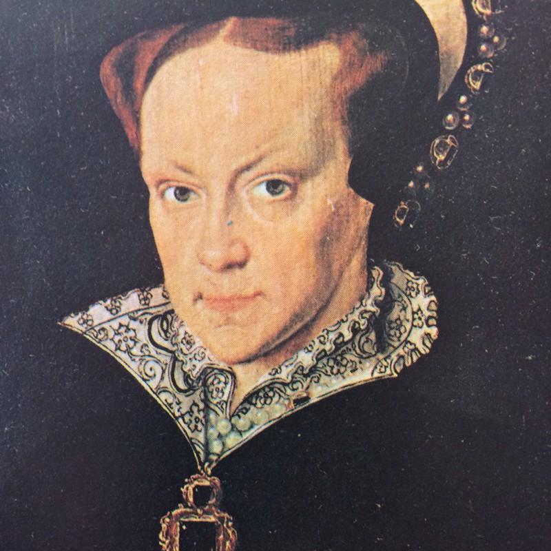 Правление: 1553-1558 гг. Единственный ребенок пресловутого короля Генриха VIII и Екатерины Арагонско