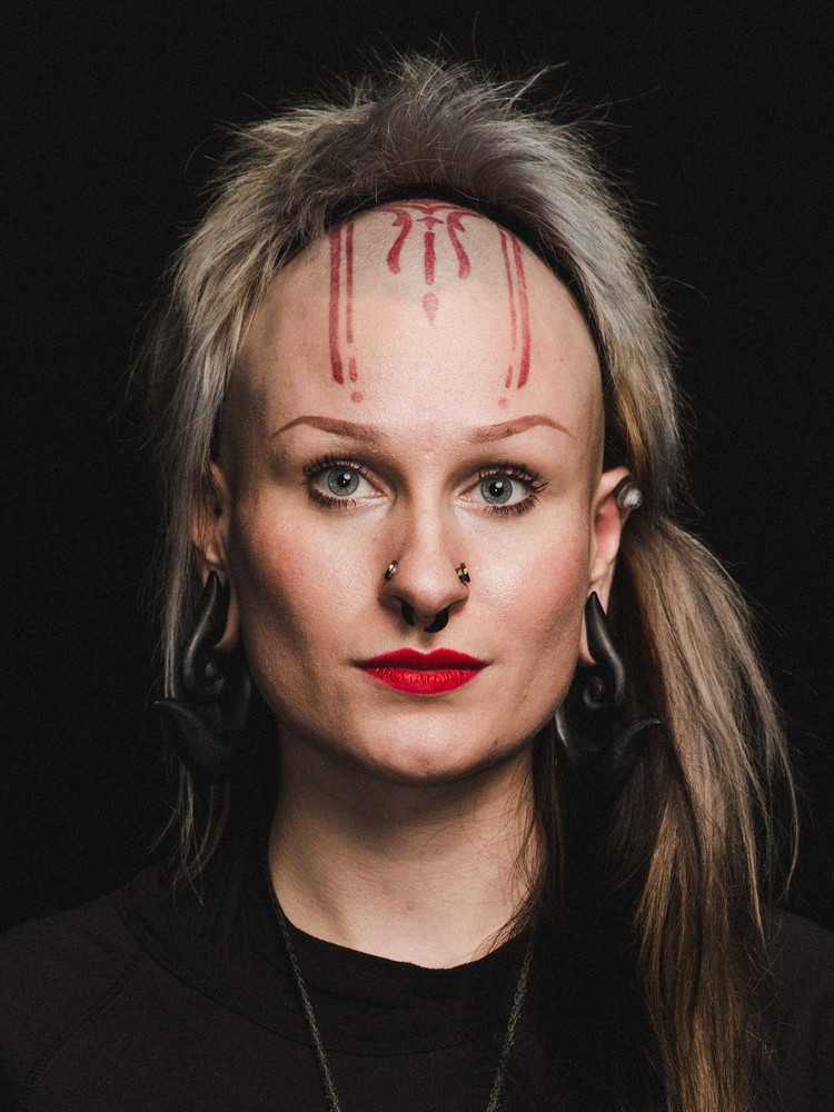 Анета фон Сайборг (Von Cyborg Body Art)