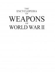 The Encyclopedia of Weapons of World War II