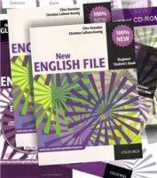 Аудиокнига New English File Beginner (full set) pdf, iso, nrg, avi (3141 kbps, 720*480, 29.97 fps), mp3 (128/192 kbps, 44.1 khz, 2 channels) в архиве rar  1566,72Мб