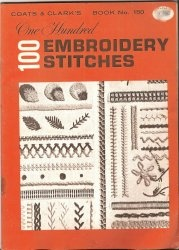 Книга One Hundred 100 Embroidery Stitches. Book 150