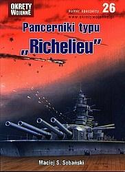 Журнал Okrety Wojenne Nr specjalny 26 - Pancerniki typu Richelieu