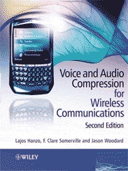 Книга Voice and Audio Compression for wirless communication