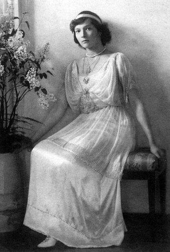 Великая княжна Татьяна Николаевна, 1914 год.