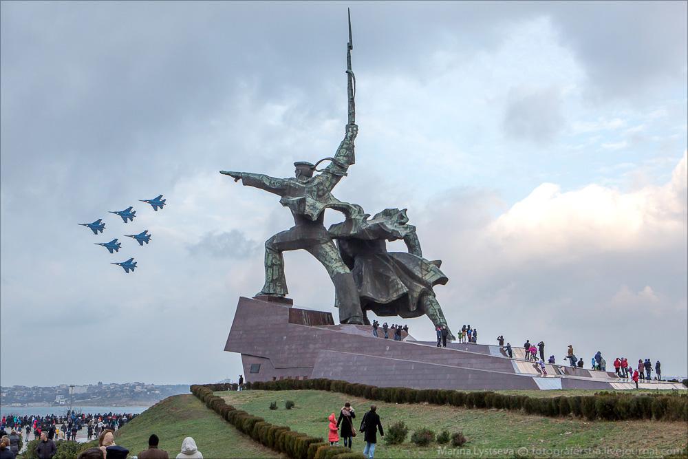 Авиашоу в Севастополе