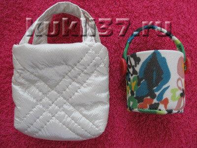 2 сумки для куклы