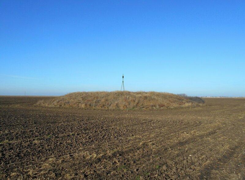 Курган в поле вспаханном ... DSCN2405.JPG