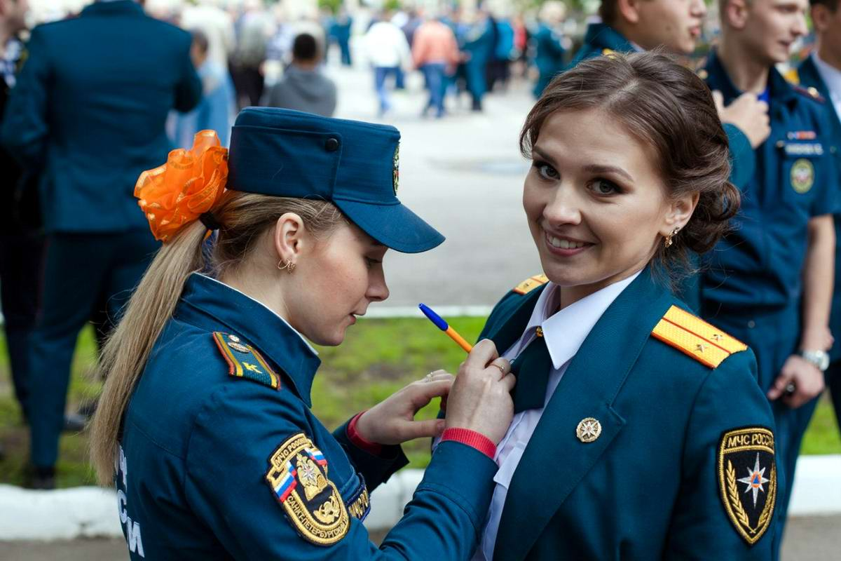 Любую беду руками разведу: Лица девушек из МЧС России (51)