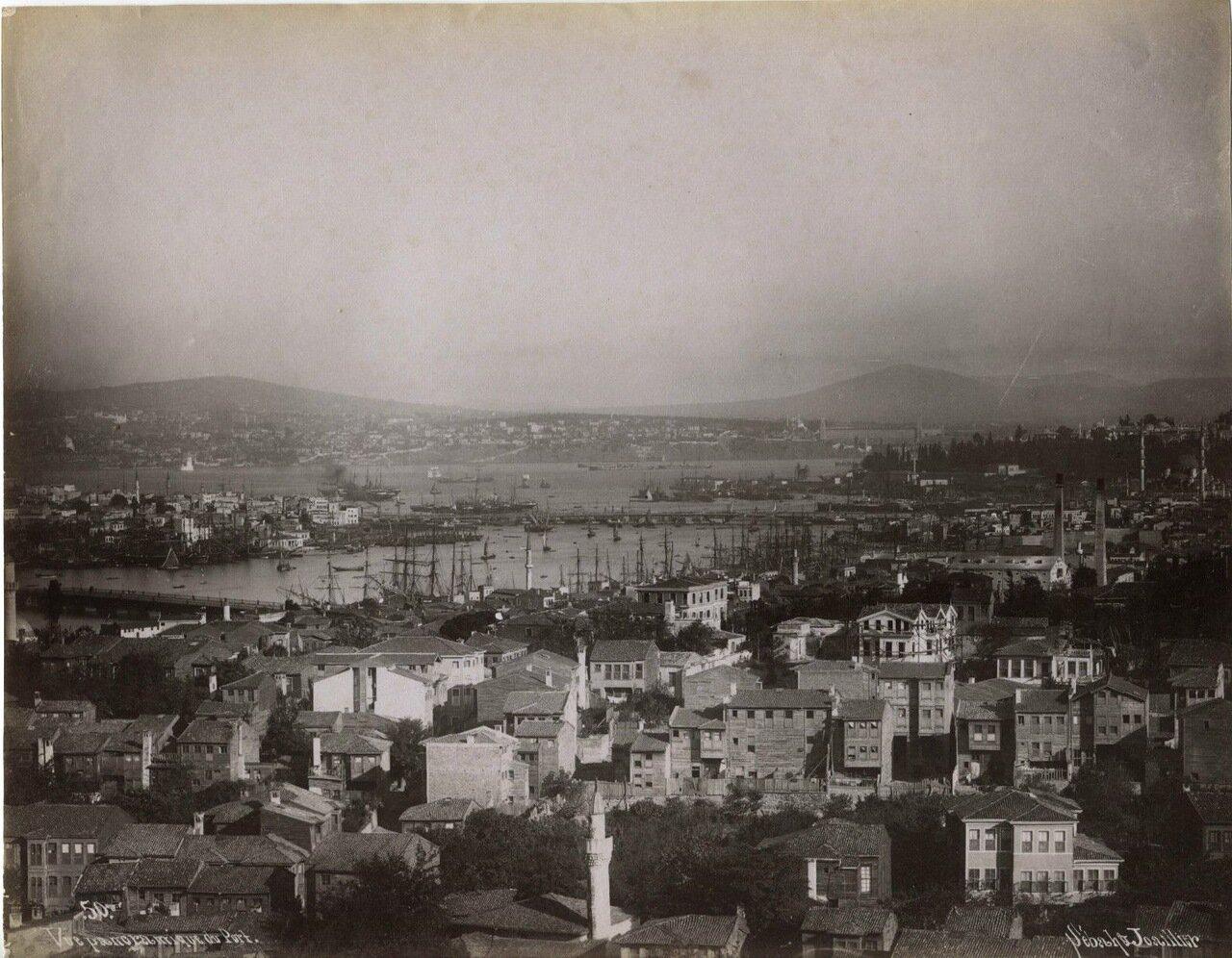 Панорамный вид на порт