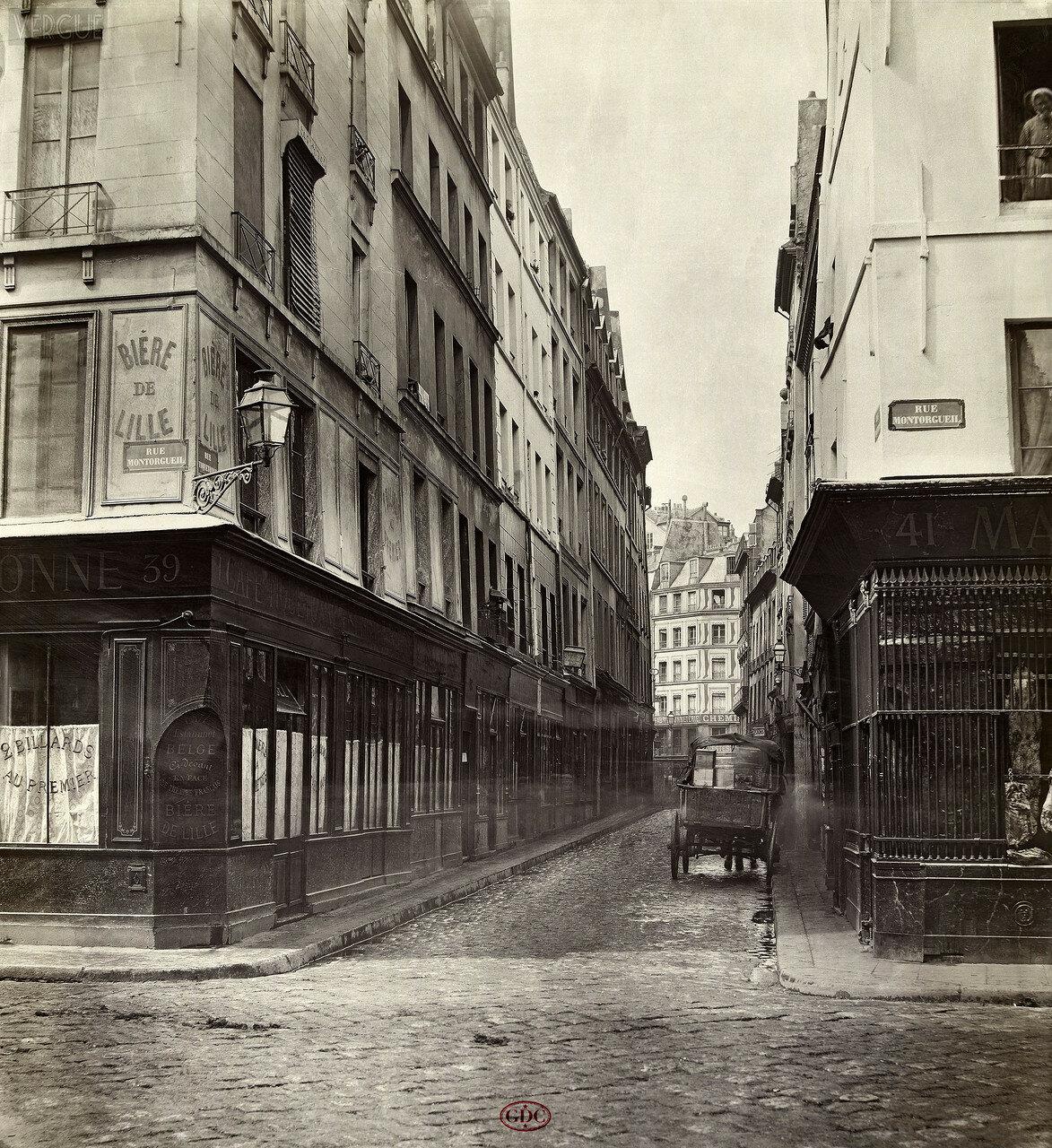 Рю Тикетон. 1868