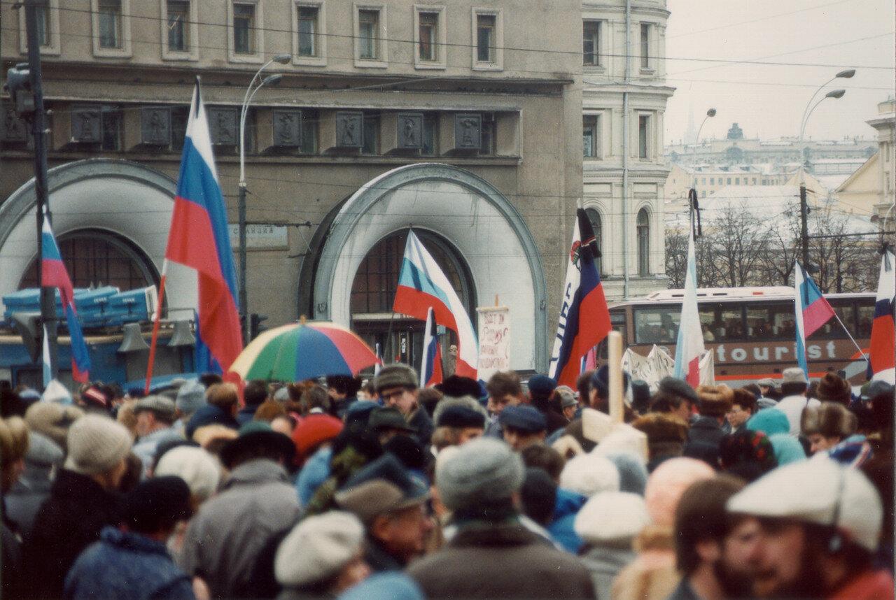 18. Толпы протестующих