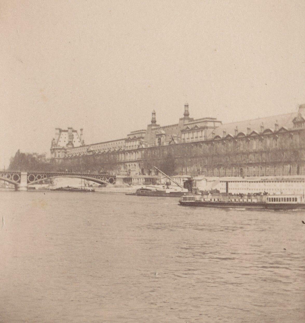 1880-е. Баржа на Сене