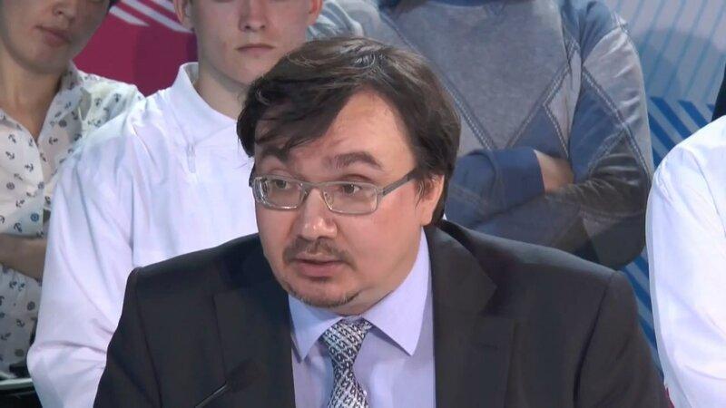 Исполнительный директор красноярской экологической организации «Плотина» Александр Колотов