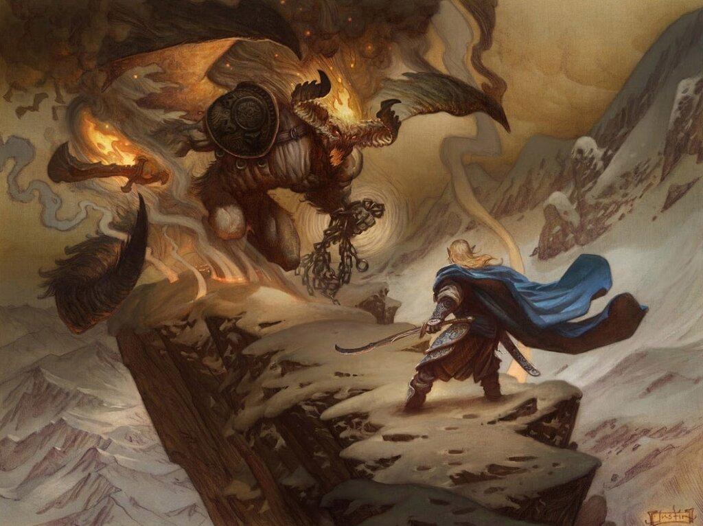 Tolkien illustrated, Justin Gerard.jpg