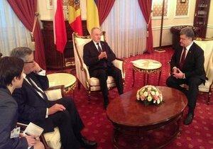 Николае Тимофти встретился с президентами Украины и Польши