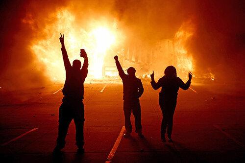 USA FERGUSON BROWN SHOOTING PROTEST