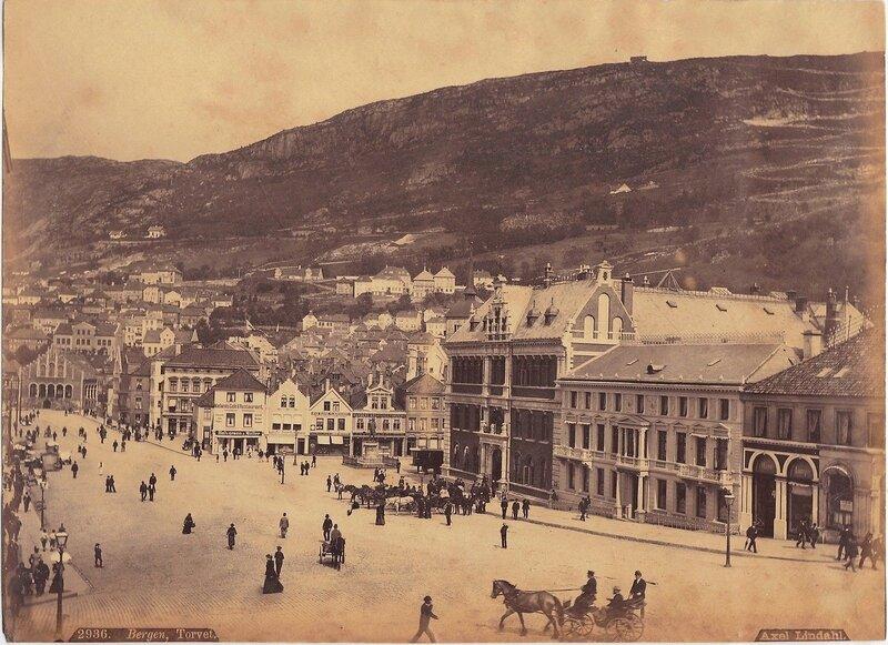 Норвегия на старинных фотографиях, 1880 год
