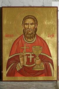 6. Чтимая икона священномученика Алексия (Скворцова) – пресвитера Иоанно-Предтеченской обители