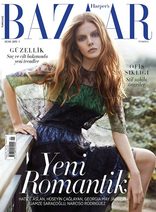 Tuanne Froemming и Марина Кртиник (Marina Krtinic) в журнале Harper's Bazaar Turkey