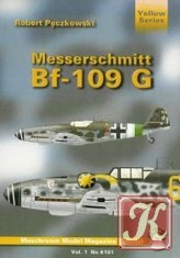 Книга Yellow Series No.6101: Messerschmitt Bf-109 G