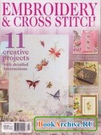 Журнал Embroidery & Cross Stitch №6 2008.