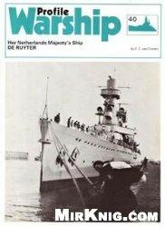 Книга HNMS De Ruyter [Warships in Profile 40]