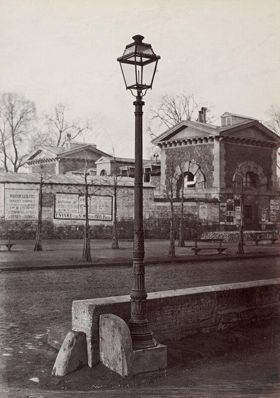 Газовый фонарь на Площади Денфер. 1867