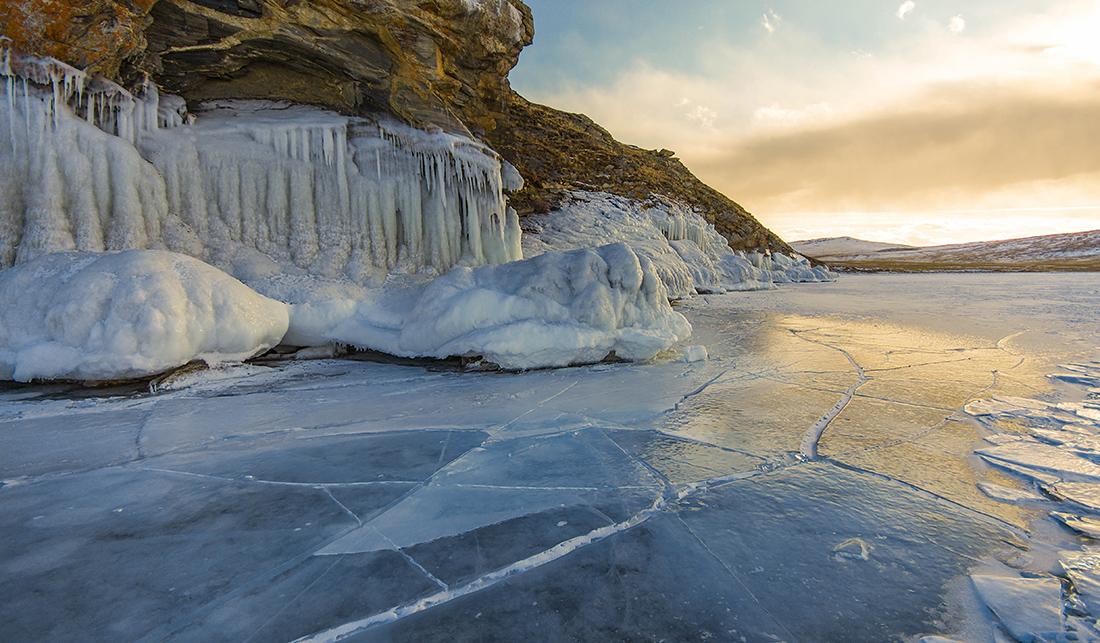 Причудливый лёд