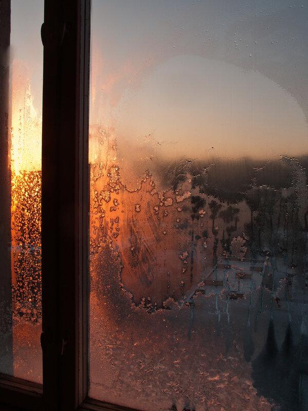 Морозный предновогодний вечер