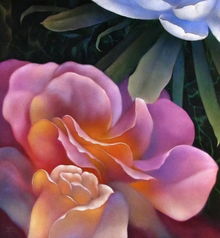 Запах женщины. Художник из Канады Jacques R.