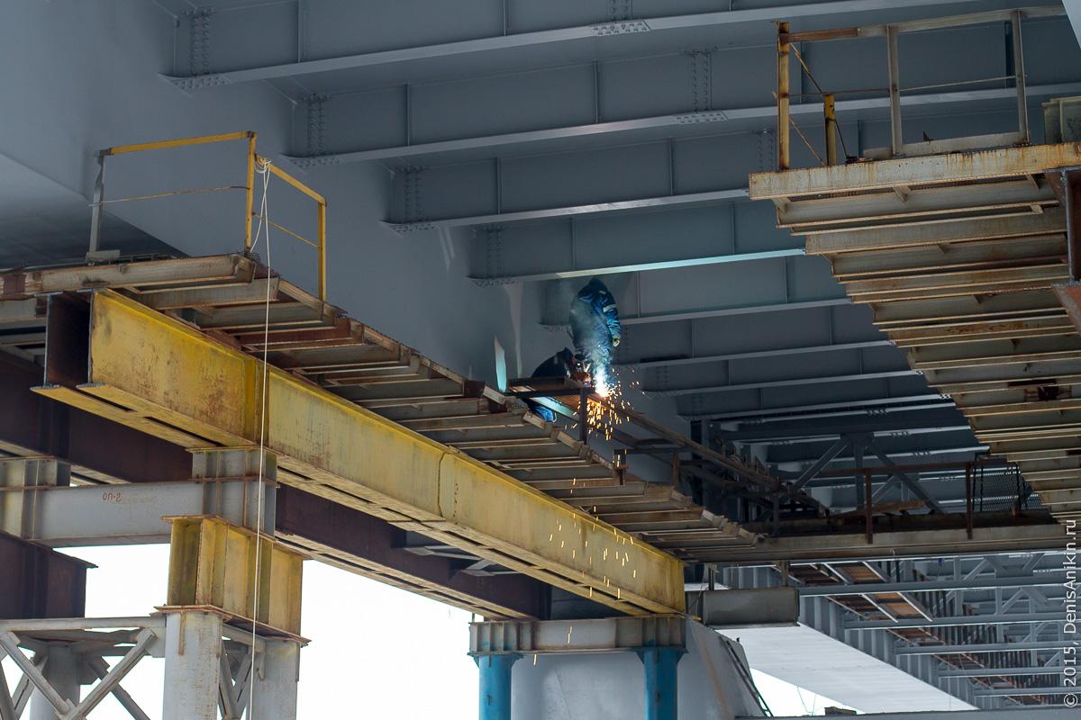 Мостовой переход через судоходный канал в Балаково 12