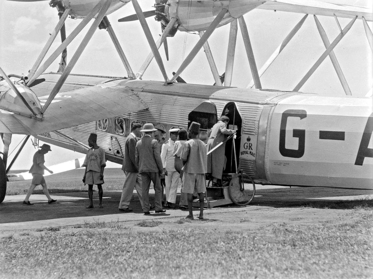 Самолеты и пилоты начала 20-го века на снимках американских фотографов (41)