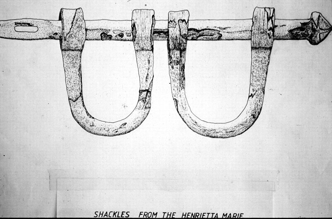 Ножные кандалы (1700 год)