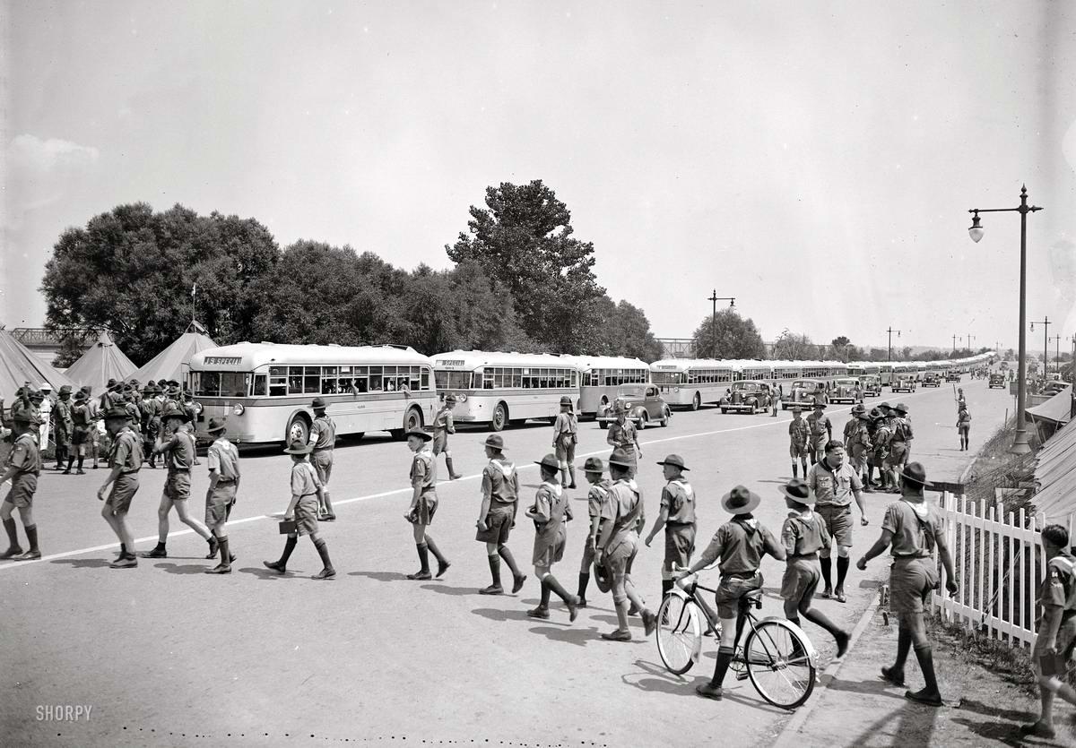 Американские бойскауты начала 20-го века на снимках фотографов (30)