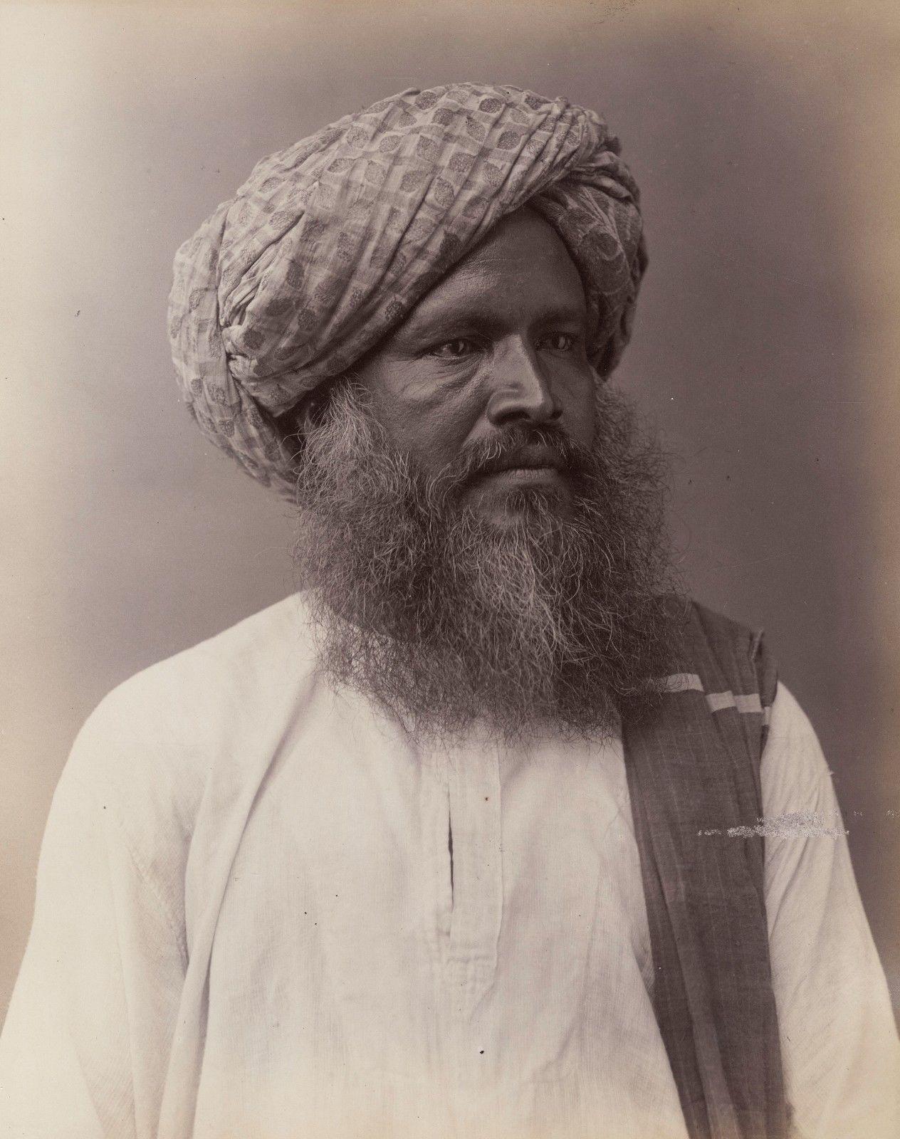 Коломбо. Местный житель.1880