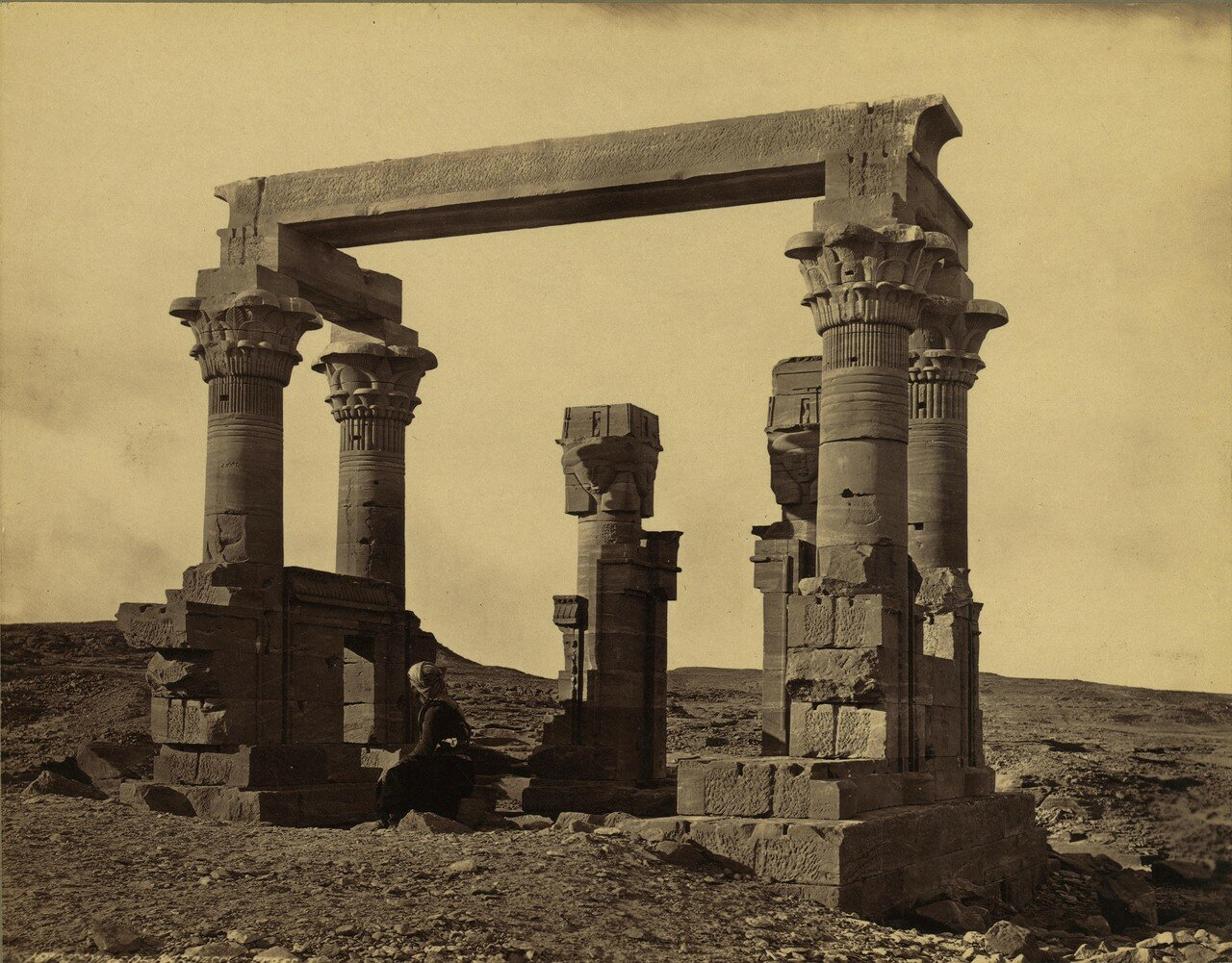 Фивы. Храм в Вади Кардасси