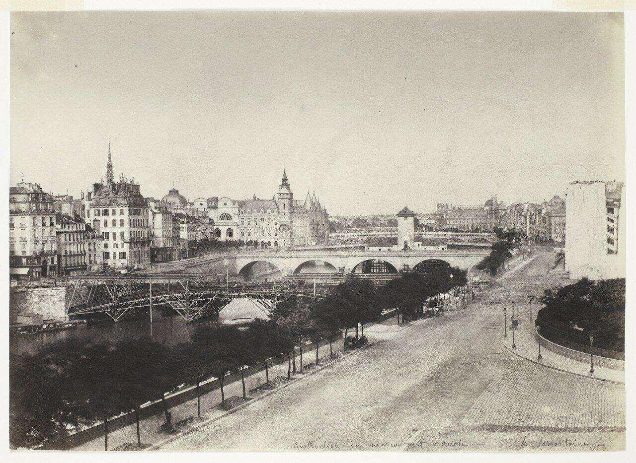 1855. Строительство нового Аркольского моста
