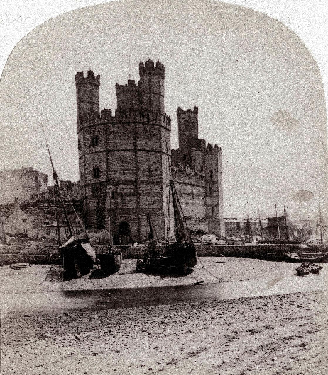 Замок Карнарвон. Великобритания, 1864