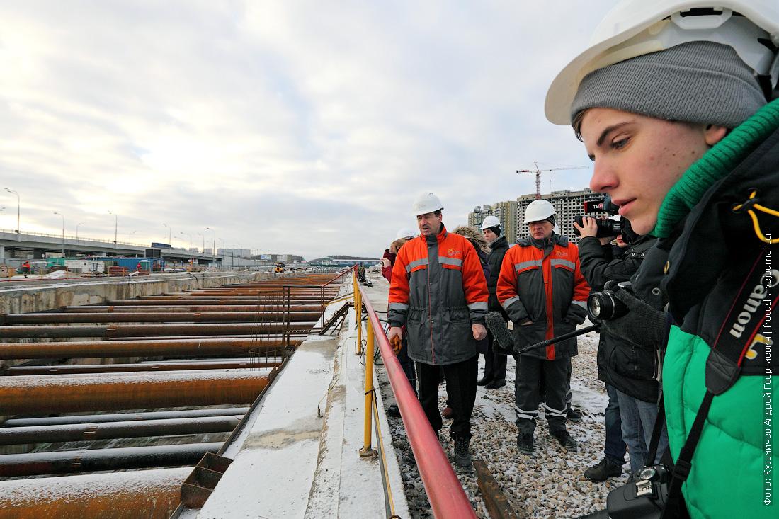 строительство станции метро Рассказовка