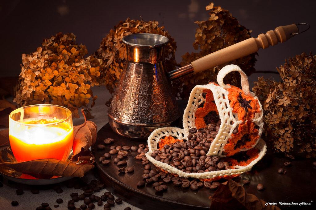 Кофе при свечах