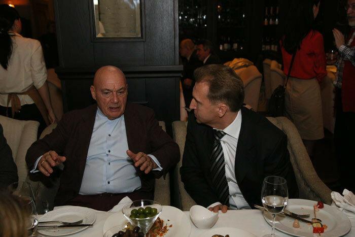 Игорь Шувалов и Владимир Познер