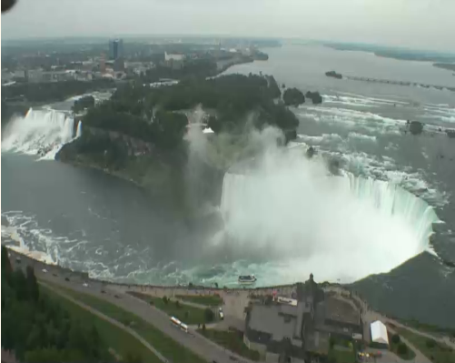 Ниагарский водопад веб камеа смотреть онлайн