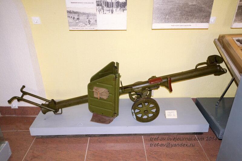 Станковый гранатомет СГ-82, Музей истории ВДВ, Рязань