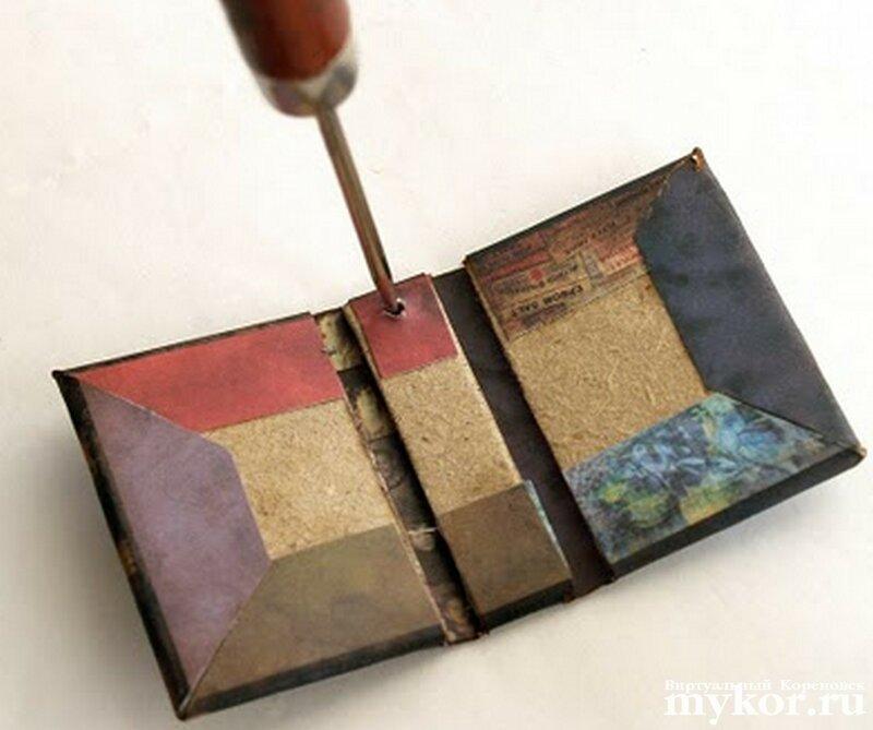 Как сделать мини книжку своими руками