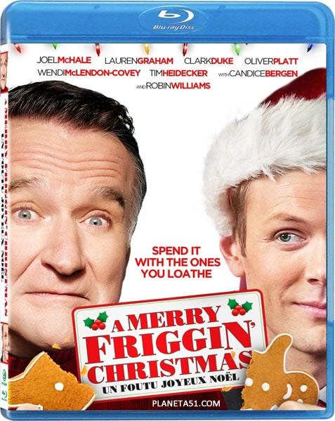 Это, блин, рождественское чудо (Чудесненькое Рождество) / A Merry Friggin' Christmas (2014/BDRip/HDRip)