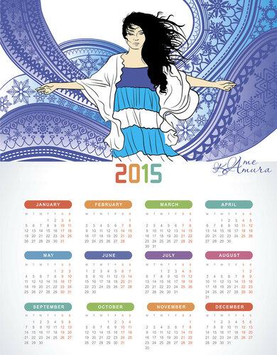 Мой Новогодний Giveaway , giveaway, розыгрыш, приз, ловец снов, календарь, графика
