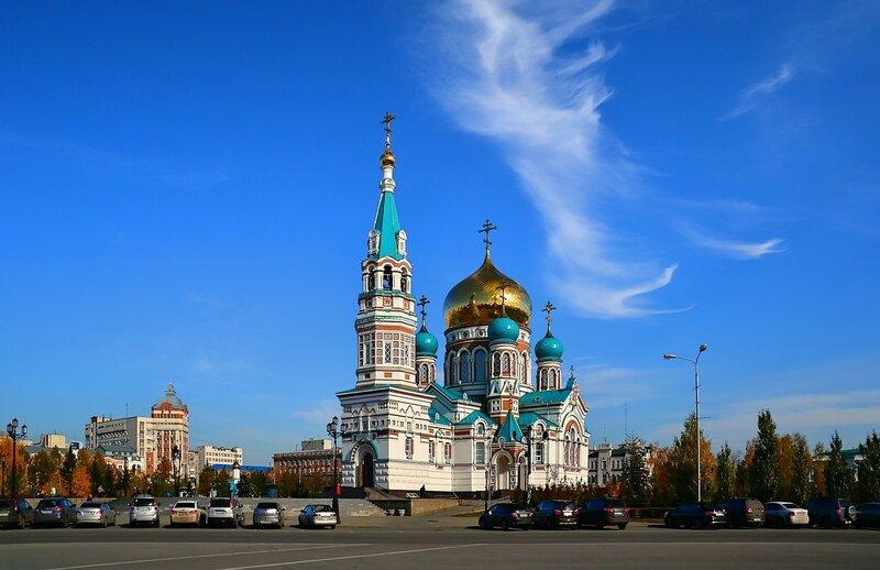 Свято-Успенский кафедральный собор. Омск