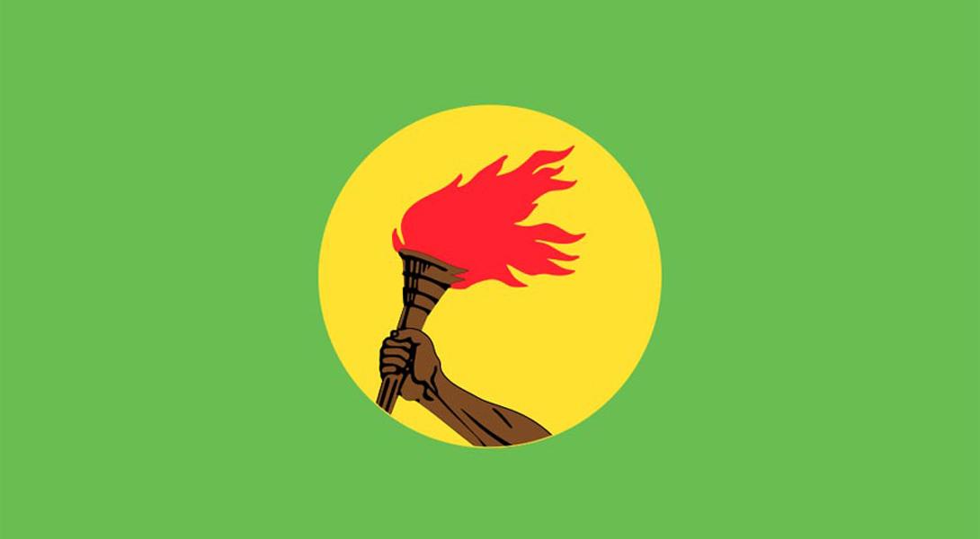 6. Заир Плакатно-революционный мотив нашел отражение на флаге Заира — страны, в которой борьба за св