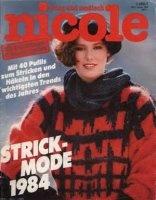 Журнал Nicole - Januar 1984 jpg 63Мб